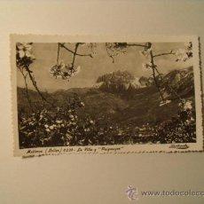 Postales: POSTAL DE MALLORCA. SOLLER.LA VILLA Y EL PUIG MAYOR. CIRCULADA AÑO 1952. POSTAL 63. Lote 19126081