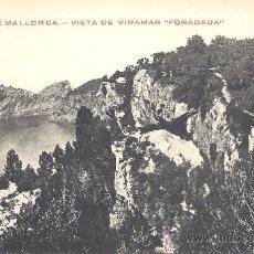 Postales: PS2273 PALMA DE MALLORCA 'VISTA DE MIRAMAR FORADADA'. JUAN PENSABENE. SIN CIRCULAR. Lote 19378829