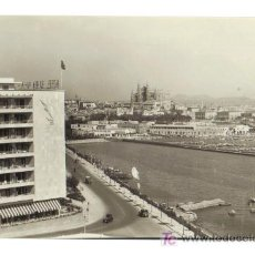 Postales: PALMA DE MALLORCA - VISTA GENERAL Y HOTEL BAHIA - FOTO TRUYOL. Lote 26477087