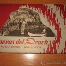 Postales: CUEVAS DEL DRACH PORTO CRISTO MALLORCA LIBRITO CON 11 POSTALES. Lote 26714603