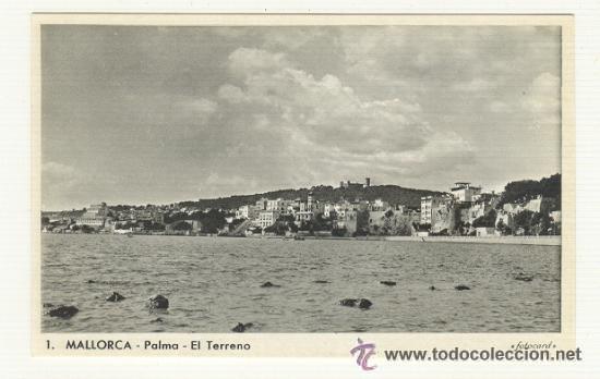 PALMA DE MALLORCA VISTA DE EL TERRENO (Postales - España - Baleares Moderna (desde 1.940))