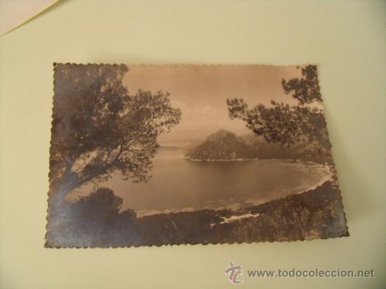 POSTAL FORMENTOR. VISTA DE LA BAHÍA. FOTO POSTIUS-SENDRA. CIRCULADA SIN SELLO 1950. POSTAL 405 (Postales - España - Baleares Moderna (desde 1.940))
