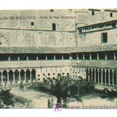 Postales: PALMA DE MALLORCA. PATIO DE SAN FRANCISCO. . Lote 20677026