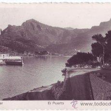 Cartes Postales: SÓLLER (MALLORCA): EL PUERTO. ED. ARRIBAS. CIRCULADA (AÑOS 50). Lote 23355845