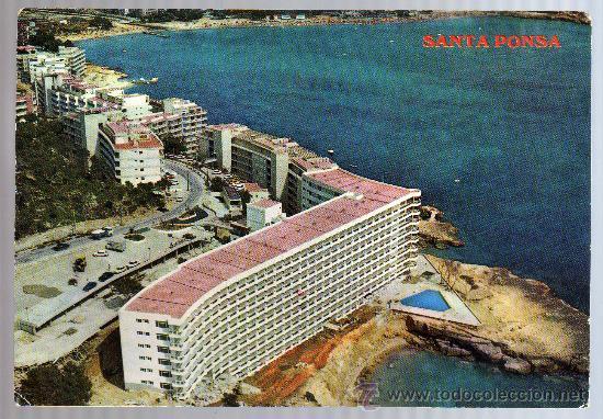 TARJETA POSTAL - SANTA PONSA - PALMA DE MALLORACA. (Postales - España - Baleares Moderna (desde 1.940))