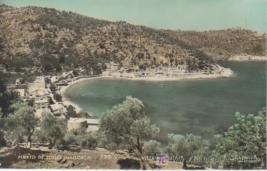 PUERTO DE SOLLER.MALLORCA ZERKOWTIZ. MAS COLECCIONSIMO EN GENERAL EN RASTRILLOPORTOBELLO (Postales - España - Baleares Antigua (hasta 1939))