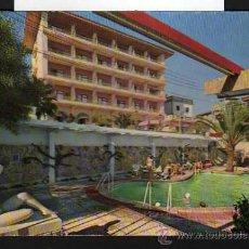 Postales: MALLORCA - PALMA - PISCINA HOTEL BRISTOL SAN AGUSTIN - CASA PLANAS 1960 NEVCOLOR 151. Lote 21399255