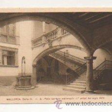 Postales: MALLORCA. SERIE IV. - 8. PATIO BARROCO MALLORQUIN - 1ª. MITAD DEL SIGLO XVIII. . Lote 21426260