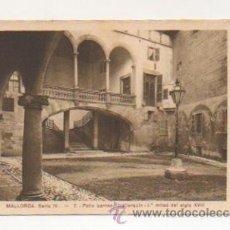 Postales: MALLORCA. SERIE IV. - 7. PATIO BARROCO MALLORQUIN - 1ª. MITAD DEL SIGLO XVIII. . Lote 21426938