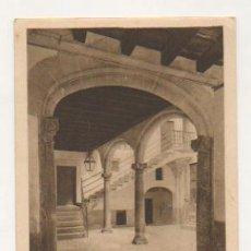 Postales: MALLORCA. SERIE IV. - 6. PATIO BARROCO MALLORQUIN - 2ª. MITAD DEL SIGLO XVII. . Lote 21427004