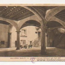 Postales: MALLORCA. SERIE IV. - 4. PATIO BARROCO MALLORQUIN DEL SIGLO XVII. . Lote 21427041