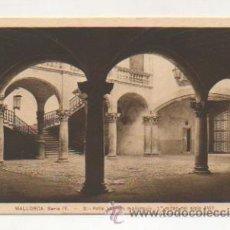 Postales: MALLORCA. SERIE IV. - 9. PATIO BARROCO MALLORQUIN - 1ª. MITAD DEL SIGLO XVIII. . Lote 21427071