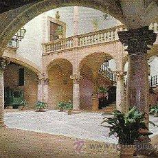 Postales: PALMA DE MALLORCA, PATIO DE LA CASA DEL CONDE DE PERALADA. Lote 21675487