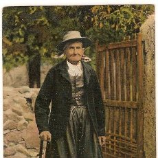 Postales: 1919 - MALLORCA (ISLAS BALEARES) - UN PAYÉS MALLORQUÍN. Lote 24371806