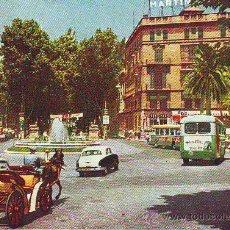 Cartoline: PALMA DE MALLORCA PLAZA DE LA REINA Y PASEO DEL BORNE. Lote 27205973