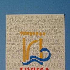 Postales: POSTAL TURISMO EIVISSA.- IBIZA (BALEARES). ESPAÑA. Lote 21851555