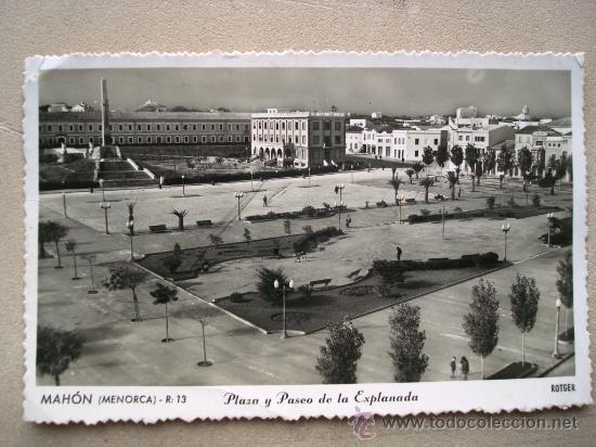 Resultat d'imatges de postales antiguas de mahon