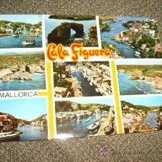 Postales: POSTAL CALA FIGUERA PALMA DE MALLORCA. Lote 21911028