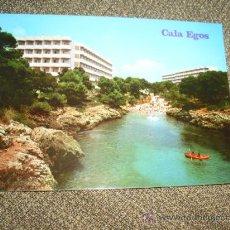 Postales: POSTAL CALA EGOS PALMA DE MALLORCA. Lote 21911041