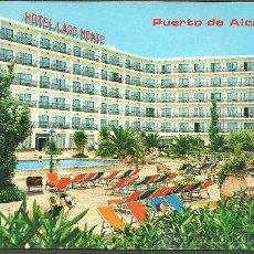 Postales: PUERTO DE ALCUDIA - MALLORCA - HOTEL LAGO MONTE - ICARIA GRAF.. Lote 22073079