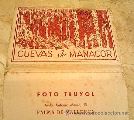 ESTUCHE - LIBRILLO DE POSTALES DE MALLORCA, EDITOR TROYOL, 10 POSTALES, TAMAÑO 10X7, MUY ANTIGUO (Postales - España - Baleares Antigua (hasta 1939))