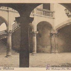 Postales: PALMA DE MALLORCA, PATIO DE LA CASA DEL MARQUÉS DE VIVOT, EDITOR: NO. Lote 22549230