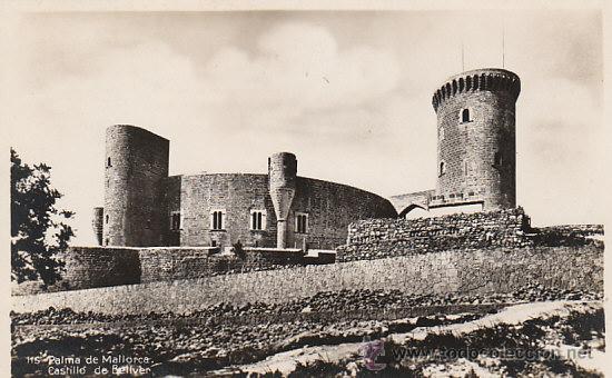 PALMA DE MALLORCA, CASTILLO DE VELLBER, EDITOR: AM SIN Nº (Postales - España - Baleares Antigua (hasta 1939))
