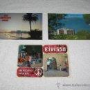 Postales: LOTE DE 3 POSTALES AÑOS 60/70 DE IBIZA. Lote 27086303