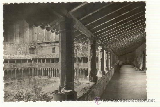 CLAUSTRO IGLESIA SAN FRANCISCO PALMA (Postales - España - Baleares Antigua (hasta 1939))