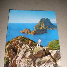 Postales: POSTAL IBIZA - ISLOTE VEDRA (EXCLUSIVAS CASA FIGUERETAS. Nº 1.331) SIN CIRCULAR. Lote 23426544