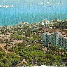 Postales: CAN PICAFORT (MALLORCA), VISTA PARCIAL AEREA DE 1970. Lote 23591001