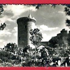 Postales: PALMA DE MALLORCA, MALLORCA, CASTILLO DE BELLVER, TORRE DEL HOMENAJE, P48120. Lote 24000427