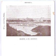 Postales: MENORCA- MAHON - EL ARSENAL -33- JOSE TOUS- (5050). Lote 24280118