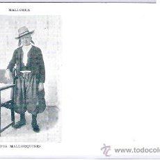 Postales: MALLORCA- TIPOS MALLORQUINES -67- JOSE TOUS- (5056). Lote 24280350