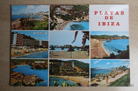 POSTAL ANTIGUA DE IBIZA. ISLAS BALEARES (Postales - España - Baleares Moderna (desde 1.940))