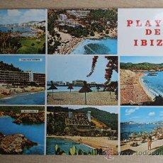 Postales: POSTAL ANTIGUA DE IBIZA. ISLAS BALEARES. Lote 24312535