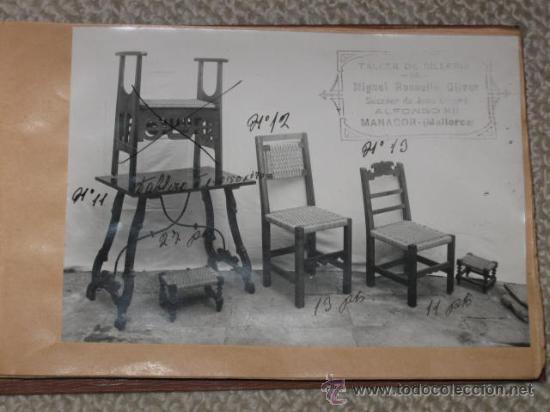 Cat logo de f brica de sillas y muebles con pos comprar postales antiguas de baleares en - Muebles la fabrica mallorca ...