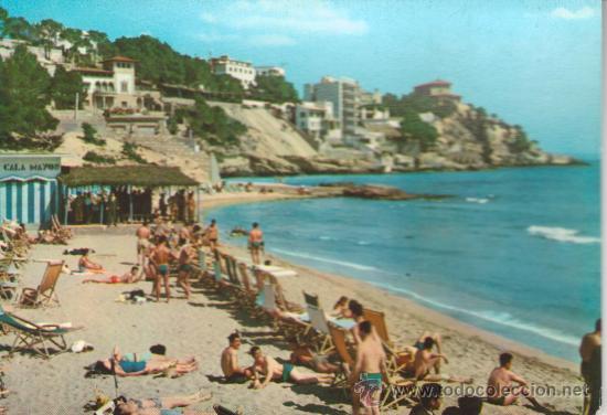 MALLORCA. PLAYA Y HOTELES CALA MAJOR..MAS COLECCIONISMO EN RASTRILLOPORTOBELLO (Postales - España - Baleares Moderna (desde 1.940))