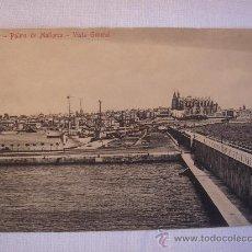 Postales: PALMA DE MALLORCA. VISTA GENERAL.CIRCULADA, ESCRITA Y CON SELLO DE 10 CTS DE ALFONSO XIII(12-X-13). Lote 27247642