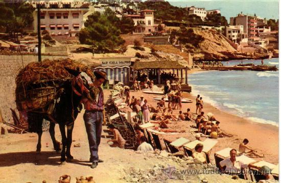 Nº 7574 PALMA DE MALLORCA BAR CALA MAYOR (Postales - España - Baleares Moderna (desde 1.940))