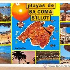 Postales: POST 520 - MALLORCA - SA COMA - SILLOT Nº 3381 - . Lote 24998571