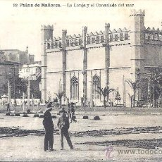 Postales: PS2209 PALMA DE MALLORCA 'LA LONJA Y EL CONSULADO DEL MAR'. FOT. LACOSTE NÚM. 93. SIN CIRCULAR. Lote 100659014