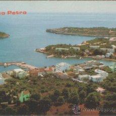 Postales: MALLORCA POSTAL PORTO PETRO 1974. Lote 25707556