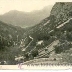 Postales: 7-ESP610. POSTAL MALLORCA. CARRETERA DE SOLLER. Lote 26126045