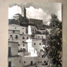 Postales: POSTAL ANTIGUA IBIZA. VISTA PARCIAL DE LA CIUDAD ALTA.. Lote 26262185