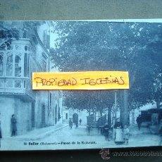 Postales: POSTAL ANTIGUA MALLORCA SÓLLER. PASEO DE LA ESTACIÓN. EDITOR LACOSTE 50. . Lote 26346978