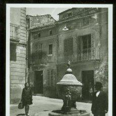 Postales: TARJETA POSTAL DE MALLORCA. POLLENSA. FUENTE DE L´ALMOINA.. Lote 26363518
