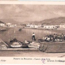 Postales: TARJETA POSTAL. MALLORCA. PUERTO DE POLLENSA. CASERIO DE LA GOLA. HUECOGRABADO MUMBRU.. Lote 26505361