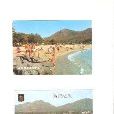 Postales: CANYAMEL , MALLORCA , AÑOS 70. Lote 27103922