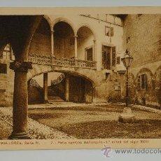 Postales: TARJETA POSTAL DE MALLORCA, SERIE IV. - 7 - PATIO BARROCO MALLORQUIN - 1ª MITAD DEL SIGLO XVIII. Lote 27311331
